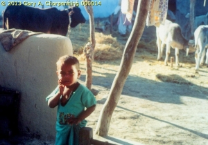A Little Boy in a South Asian Village; photo by GAC