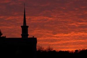 Venice Church at Sunrise; photo by GAC