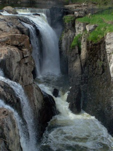 Paterson Falls, Paterson, NJ; photo by GAC